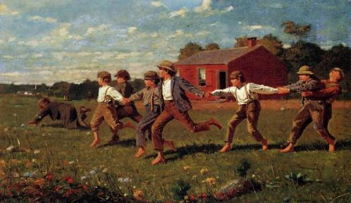 Snap_the_Whip_1872_Winslow_Homer