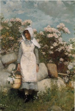 Winslow Homer_ Girl and Laurel