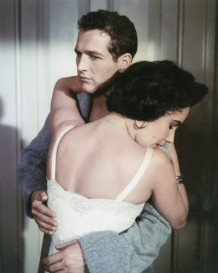 "On the Set of ""Cat on a Hot Tin Roof"""