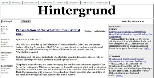 http://www.hintergrund.de/201106061576/politik/inland/verleihung-des-whistleblower-preises-2011.html