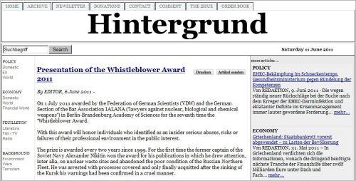 http://www.hintergrund.de/201106061576/politik/inland/verleihung-des-whistleblower-preises-2011.html
