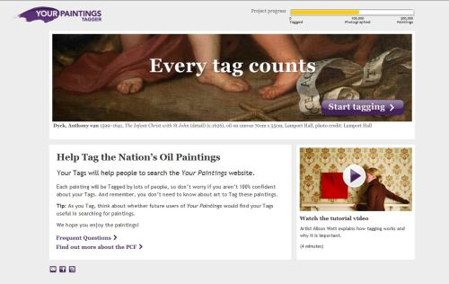 Your Paintings Tagger Project: where every tag counts!
