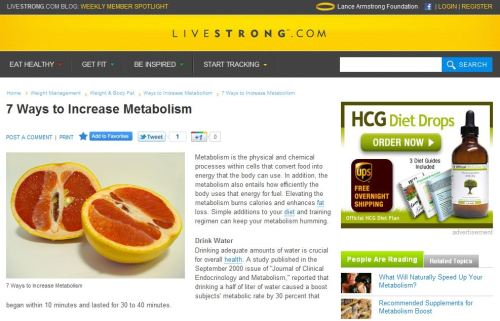 7 Ways to Increase Metabolism-via Livestrong
