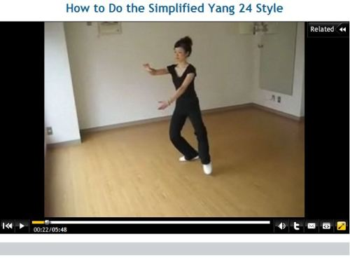 How to Do the Simplified Yang 24 Style_Rie Takahashi_All Japan Tai Chi Champion