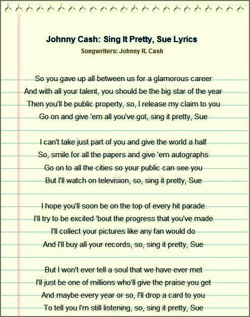 johnny lyrics: