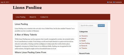 Linus Pauling _  Vitamin C