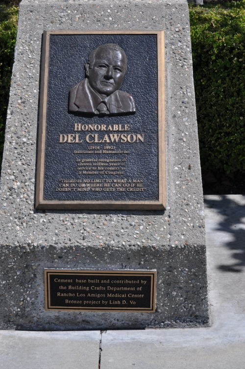 Honorable Del Clawson _ Stateman and Humanitarian