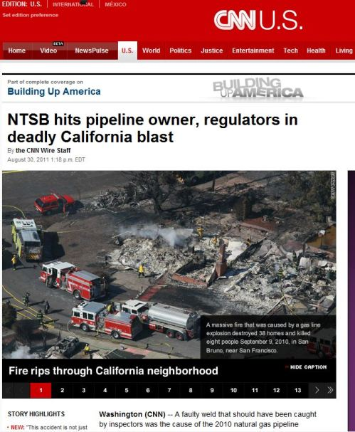 NTSB hits pipeline owner_ regulators in deadly California blast