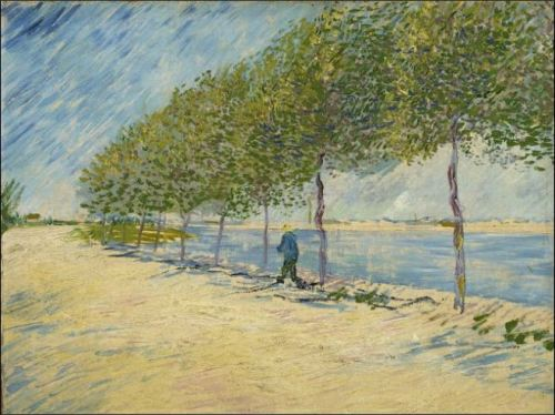 Along the Seine_Vincent va Gogh_Van Gogh Museum_Art Project