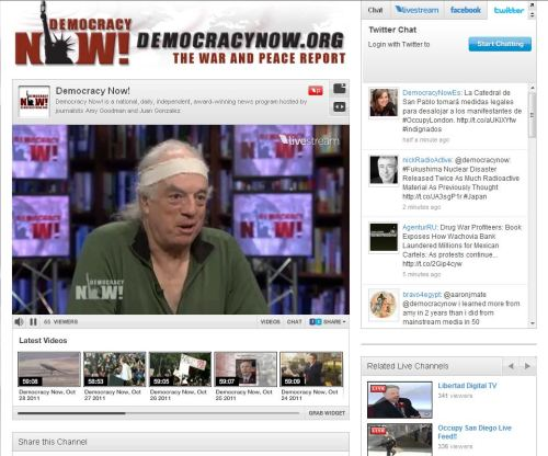 Democracy Now interview with Brian Wilson