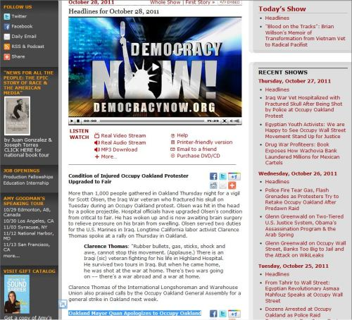 Democracy Now_0ctober 28 2011