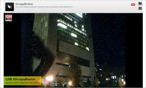 Occupy Boston_ Offical Live Stream