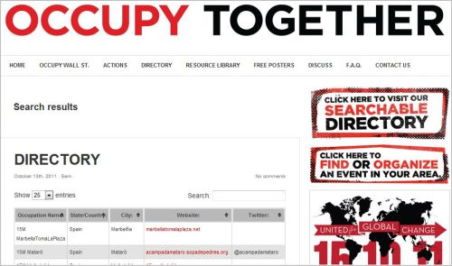 Occupy Together_Global Directory_ Now It Is Global