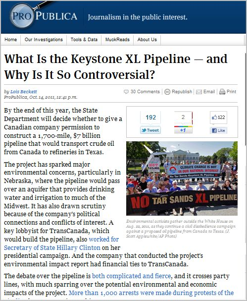 What Is the Keystone XL Pipeline — and Why Is It So Controversial?