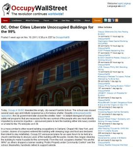 DC, Other Cities Liberate Unoccupied Buildings for the 99%