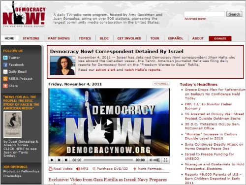 Democracy Now! Correspondent Detained By Israel (from Democracy Now)