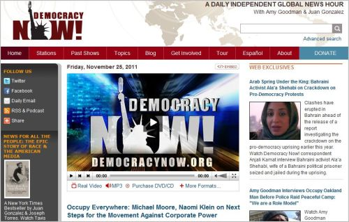 Occupy Everywhere _ Michael Moore Naomi Klein on Next Steps for the Movement Against Corporate Power