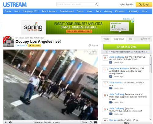 Occupy L A Live November 17 2011