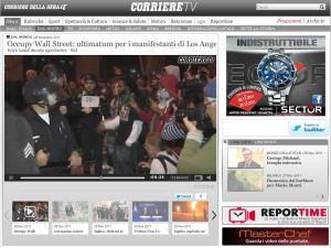 Occupy Wall Street _ ultimatum per i manifestanti di Los Angele (per Corriere della Sera-Corriere TV)