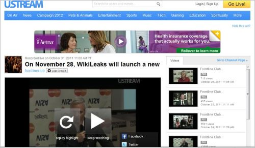 On November 28 WikiLeaks will launch a new