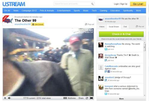 OWS_Live Stream November 17 2011