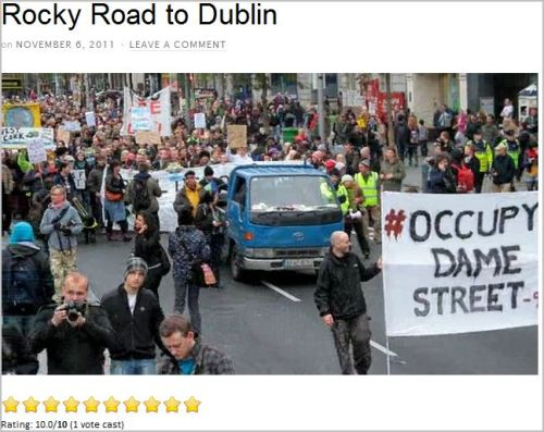 Rocky Road to Dublin (from Occupy Dame Street)