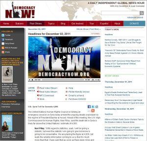 Democracy Now _ Headlines for December 02, 2011