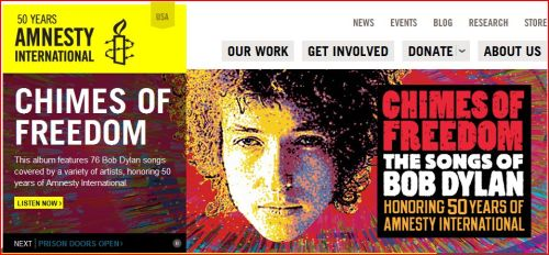 CHIMES OF FREEDOM - 50 Years Anniversary of Amnesty Intenational