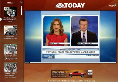 Pentagon fears fallout from Marine video Today on CBS News