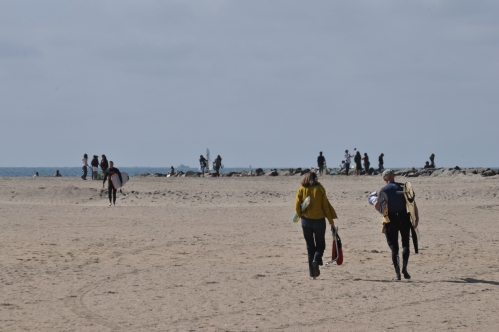 Beach cleaning day at Seal Beach (my photography Collection)