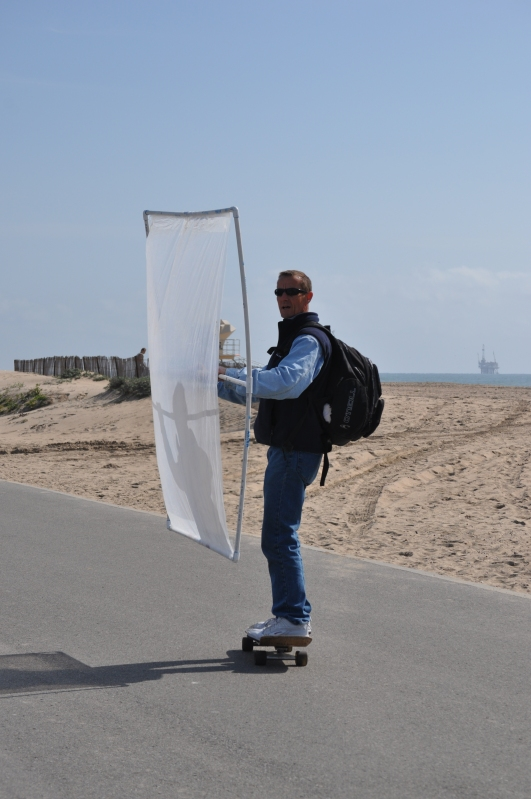 With a Little help from the wind - Bolsa Chica