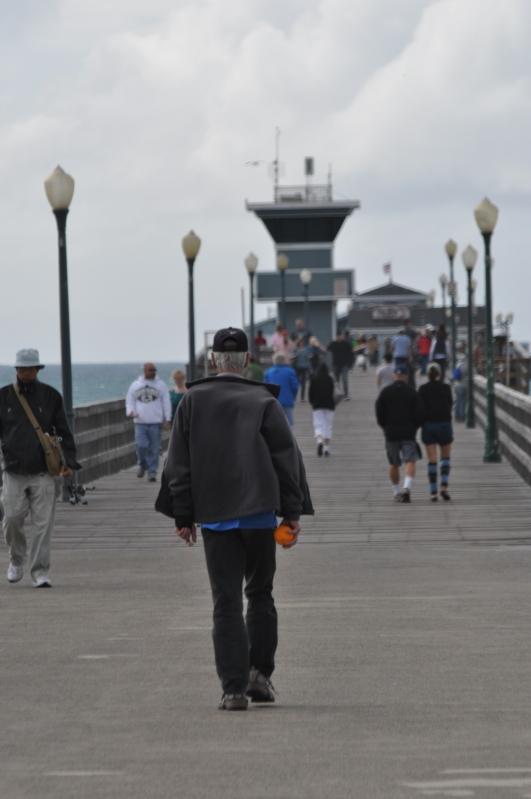 Seal Beach Pier: The Orange