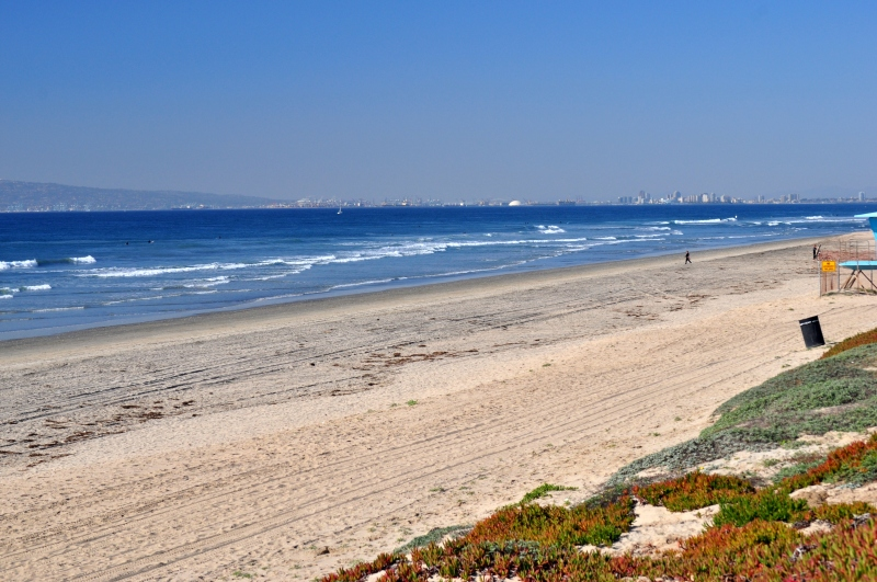 Bolsa Chica View: Seal Beach, Long Beach, San Pedro, Palos Verdes Peninsula (as experienced by The Snowy Plover, one beach goer and my Camera) (my Photography Collection)