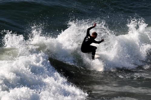 Splash! (Huntington Beach and Pier December 2011)