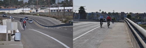 """Keep Right!"" - Pacific Coast Hwy Bike Lanes (my fitness photography)"