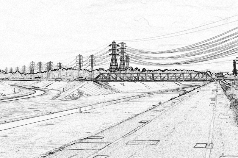 the fork in the road-sketch