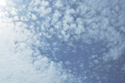 Of clouds and Identifiable flying objects (my photographic memories)