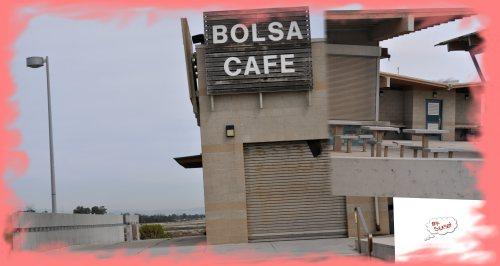 'Honey I'm @ Bolsa Cafe - Off Season' (A Postcard to Honey) (My photographic Memoirs)