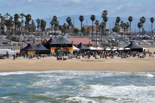 Huntington Beach Surf City Competition An April Fools Day