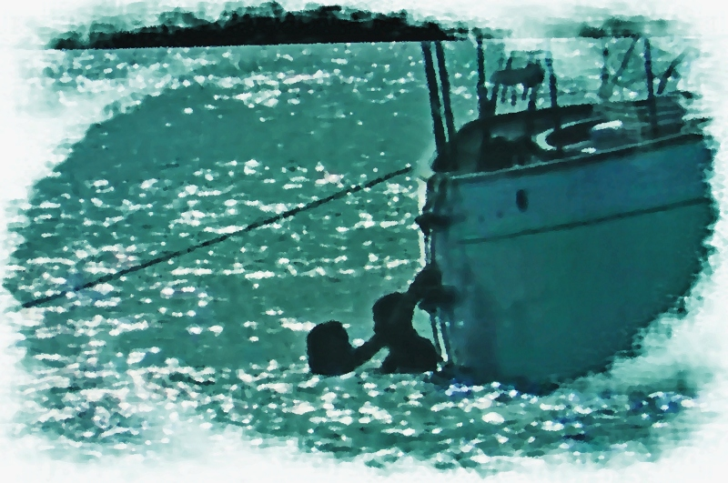 At Anchor (my digital oil paintings)