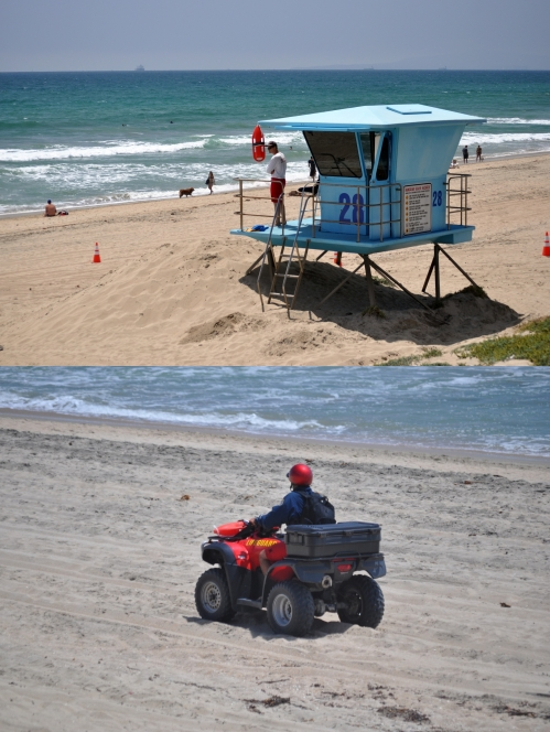 "Father's Day: ""Lifeguard on duty"" - Huntington Beach - June 17, 2012 (my Photography)"
