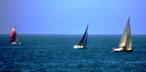 At Sea Oil painting (My photography)