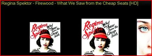 Regina Spektor - What we saw from the cheap seats Album