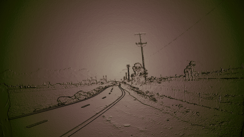 Twilight Zone 2012 San Gabriel Bike Trail