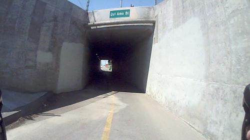 vlcsnap - San Gabriel bike trail @ Del Amo Bl, Underpass (mile 7.5)