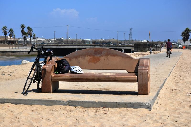 Santa Ana River Rest Bench