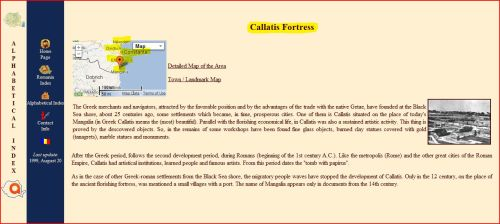 Callatis Fortress