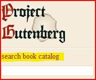 Project Gutemberg WebMainPage