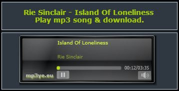 Island of Loneliness - Rie Sinclair