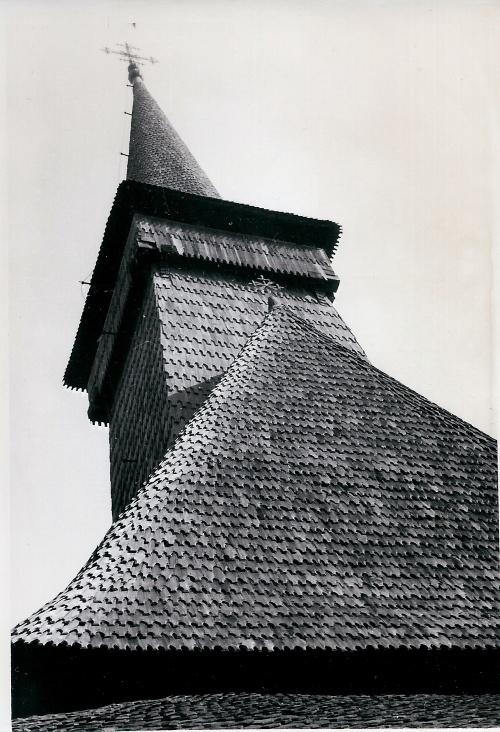 Biserica de lemn-Muzeul Satului Bucharest -Parcull Herastrau, Cisca 1972